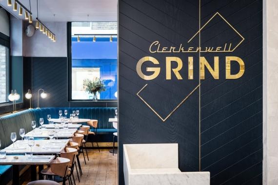 Khám phá nội thất nhà hàng Clerkenwell Grind, London độc đáo